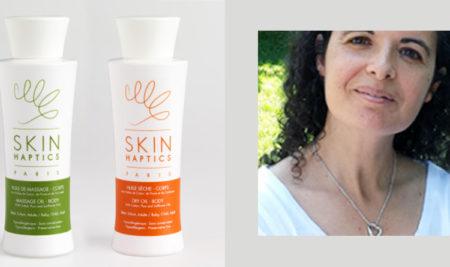 Entretien avec Sandrine Dahan, la créatrice de la marque SKINHAPTICS
