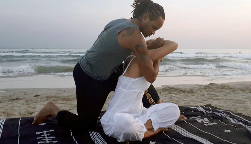Yoga Massage par Franck Alexis